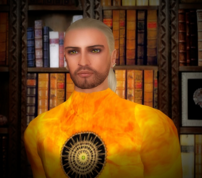 ThothHorRa as depicted by Maia in Second Life
